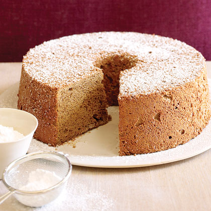 Espresso Angel Food Cake
