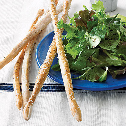 Thin Salt-and-Pepper Breadsticks
