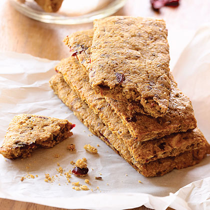 Peanut Butter Cranberry Go-Bars