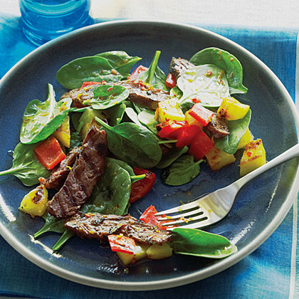 Brazilian Grilled Steak Salad
