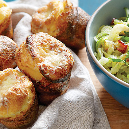 White Cheddar–Sage Popovers
