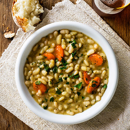 Flageolet Beans with Rosemary and Thyme