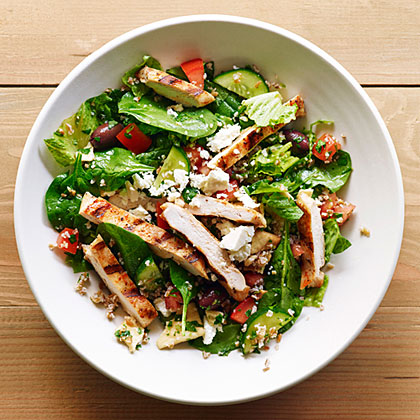 Grilled Chicken and Bulgur Salad