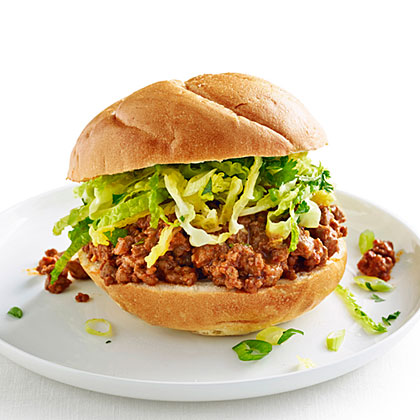 Red Curry Sloppy Joes