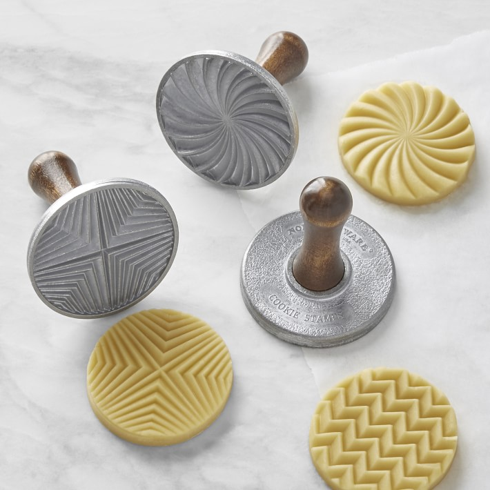 Nordic Ware Geo Cast Cookie Stamps
