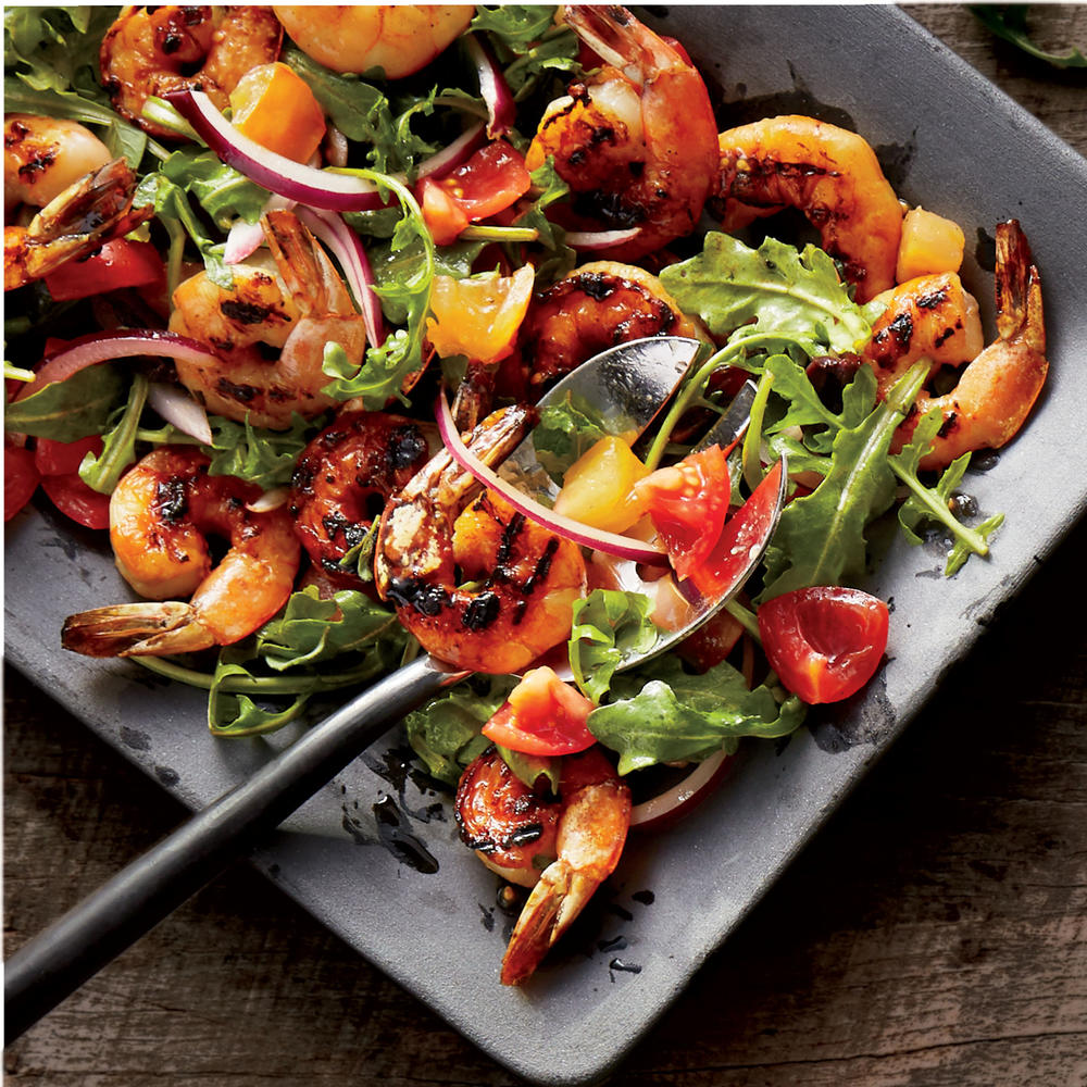 Italian Country-Style Grilled Shrimp