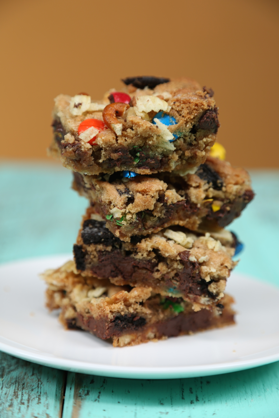 Junk Food Cookie Bars