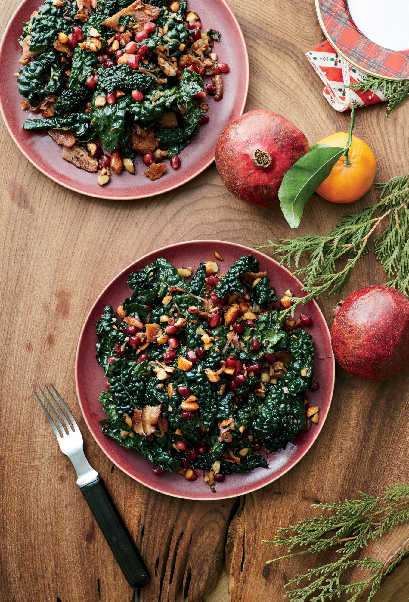 Kale and Pomegranate Salad image