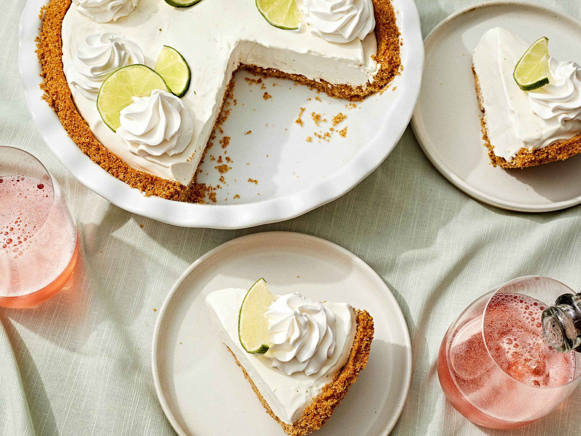 No Bake Key Lime Pie image