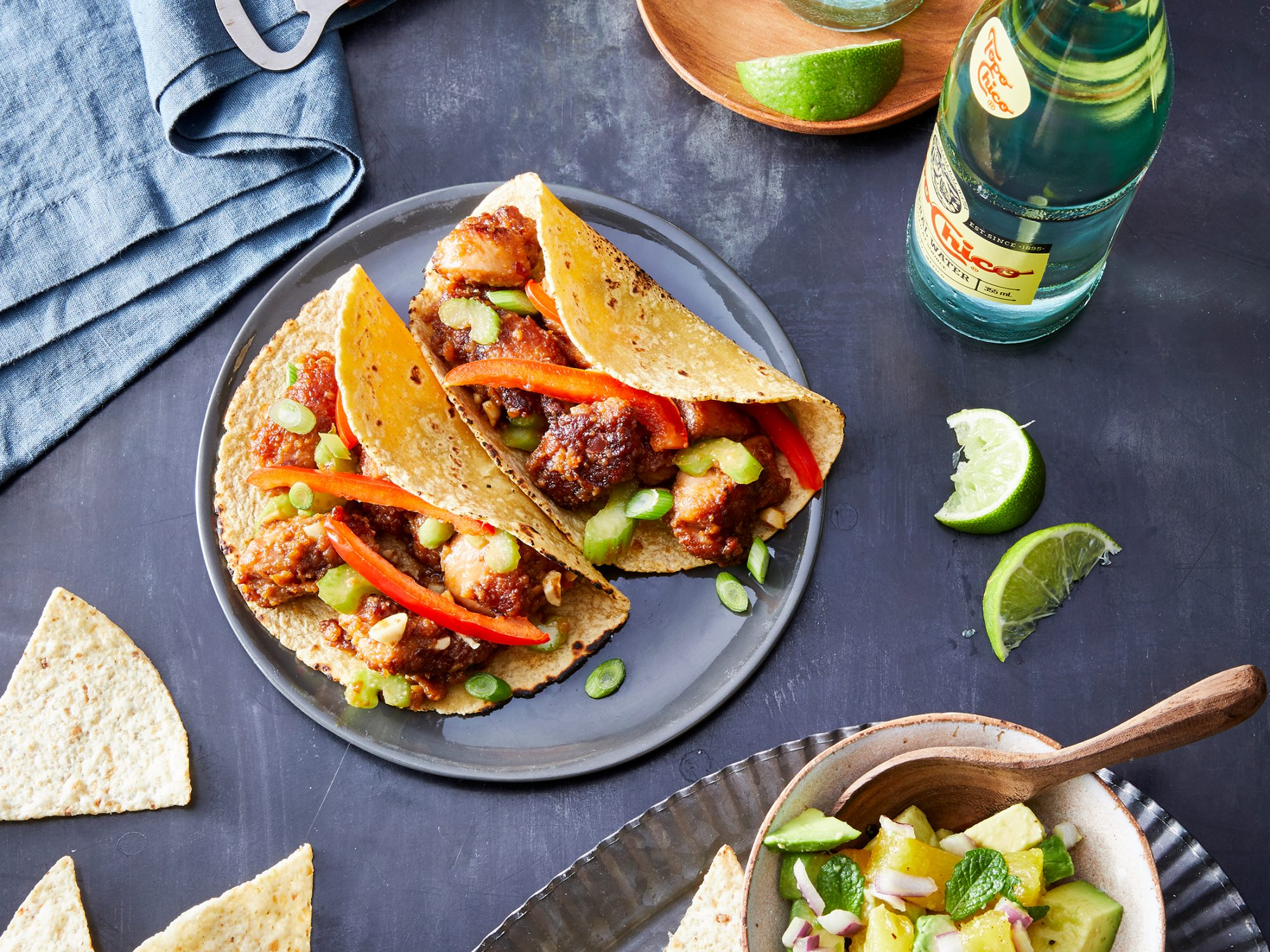 Kung Pao Chicken Tacos image