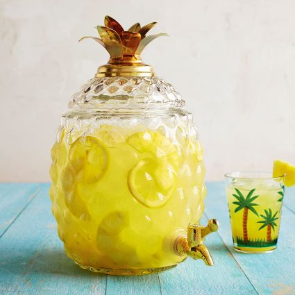 Pineapple Beverage Jar