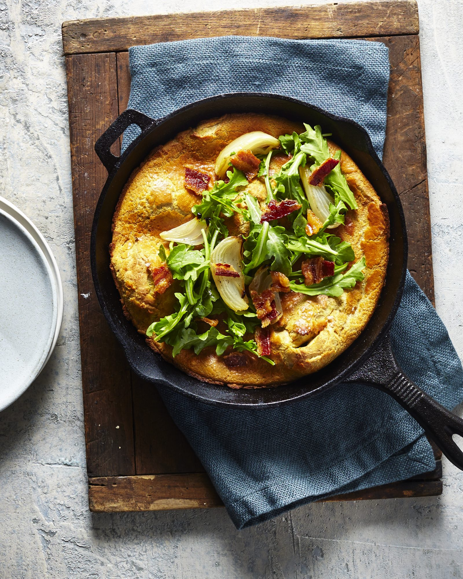Savory Pumpkin Spice Dutch Baby