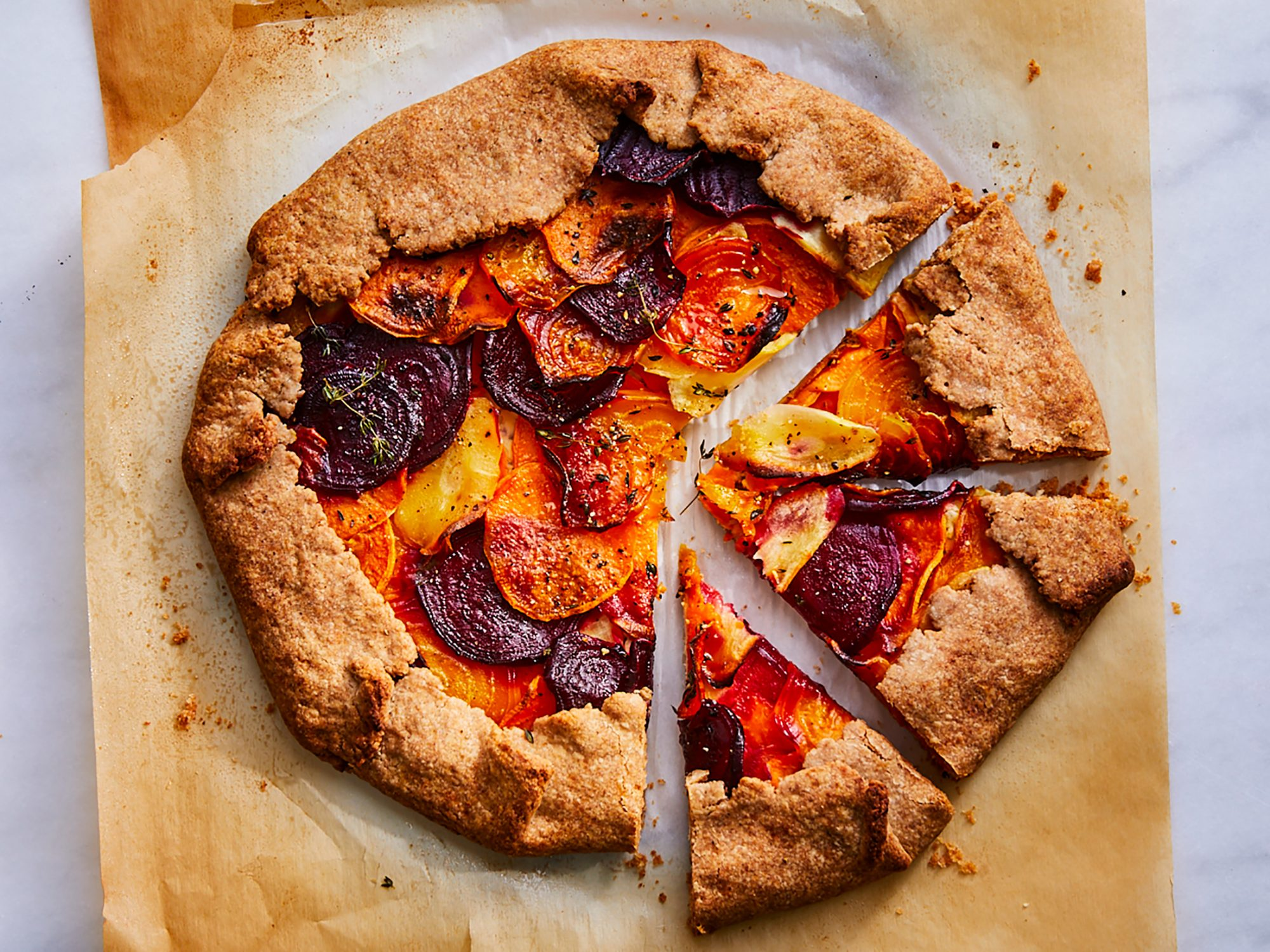 Savory Root Vegetable Galette