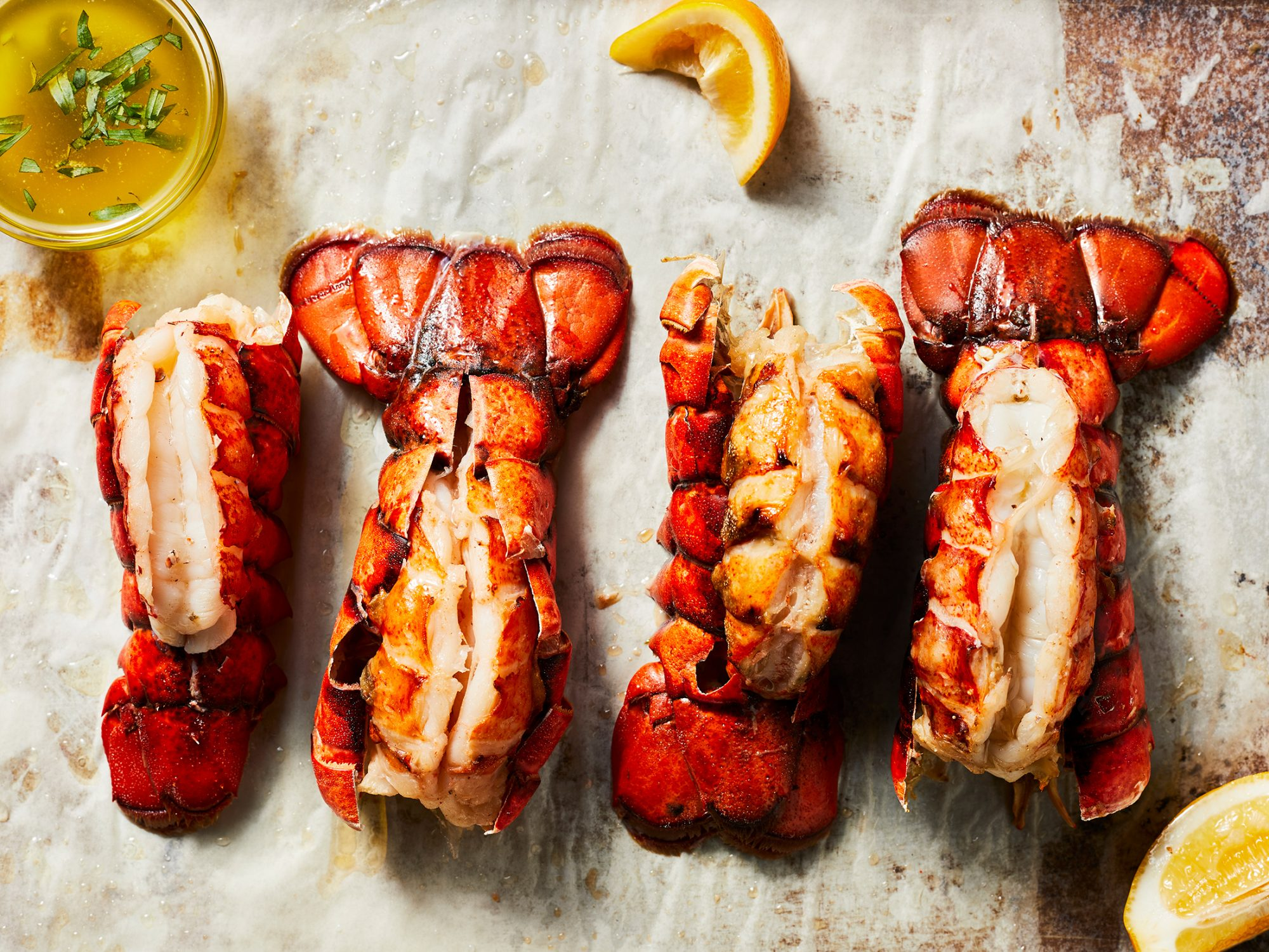 Baked Lobster Tails with Citrus-Herb Butter image