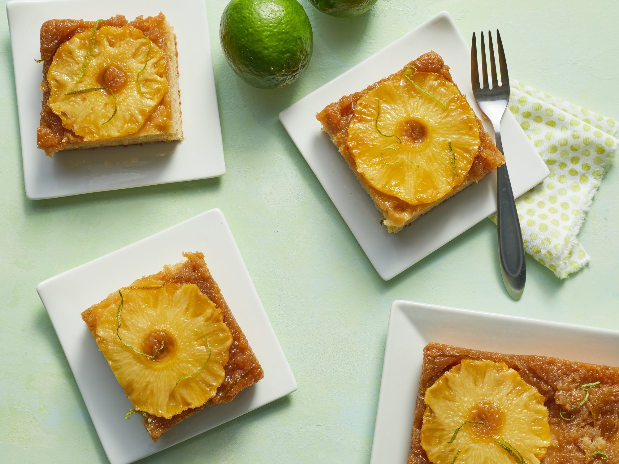 Pineapple-Lime Upside Down Cake image