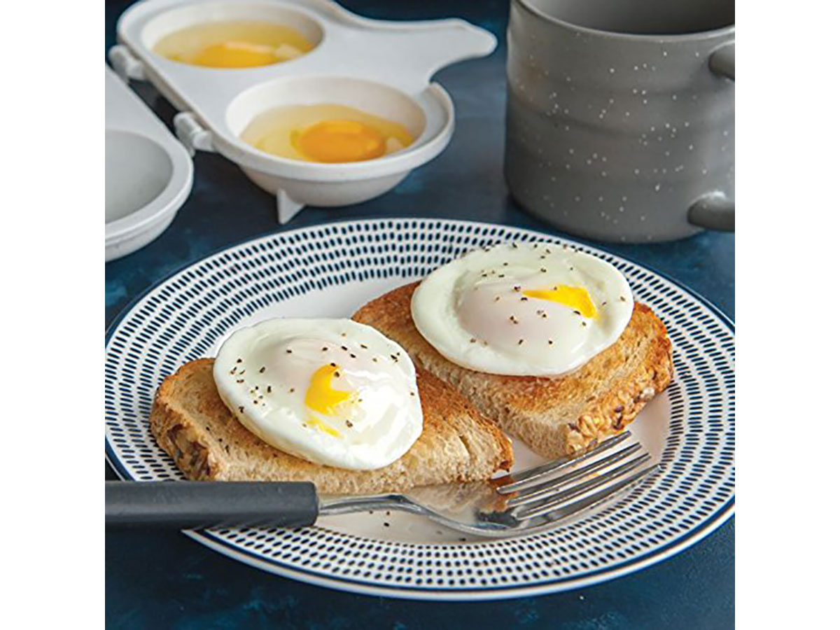 Nordic Ware's 2 Cavity Egg Poacher