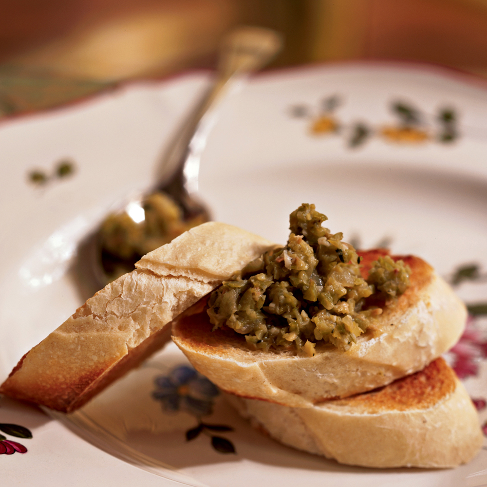 Olive and Onion Tapenade