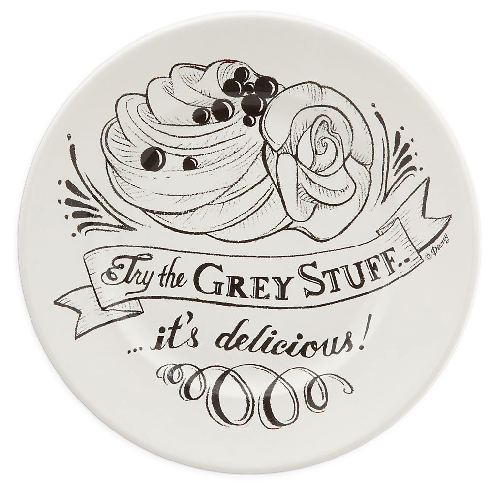 Be Our Guest Dessert Plate