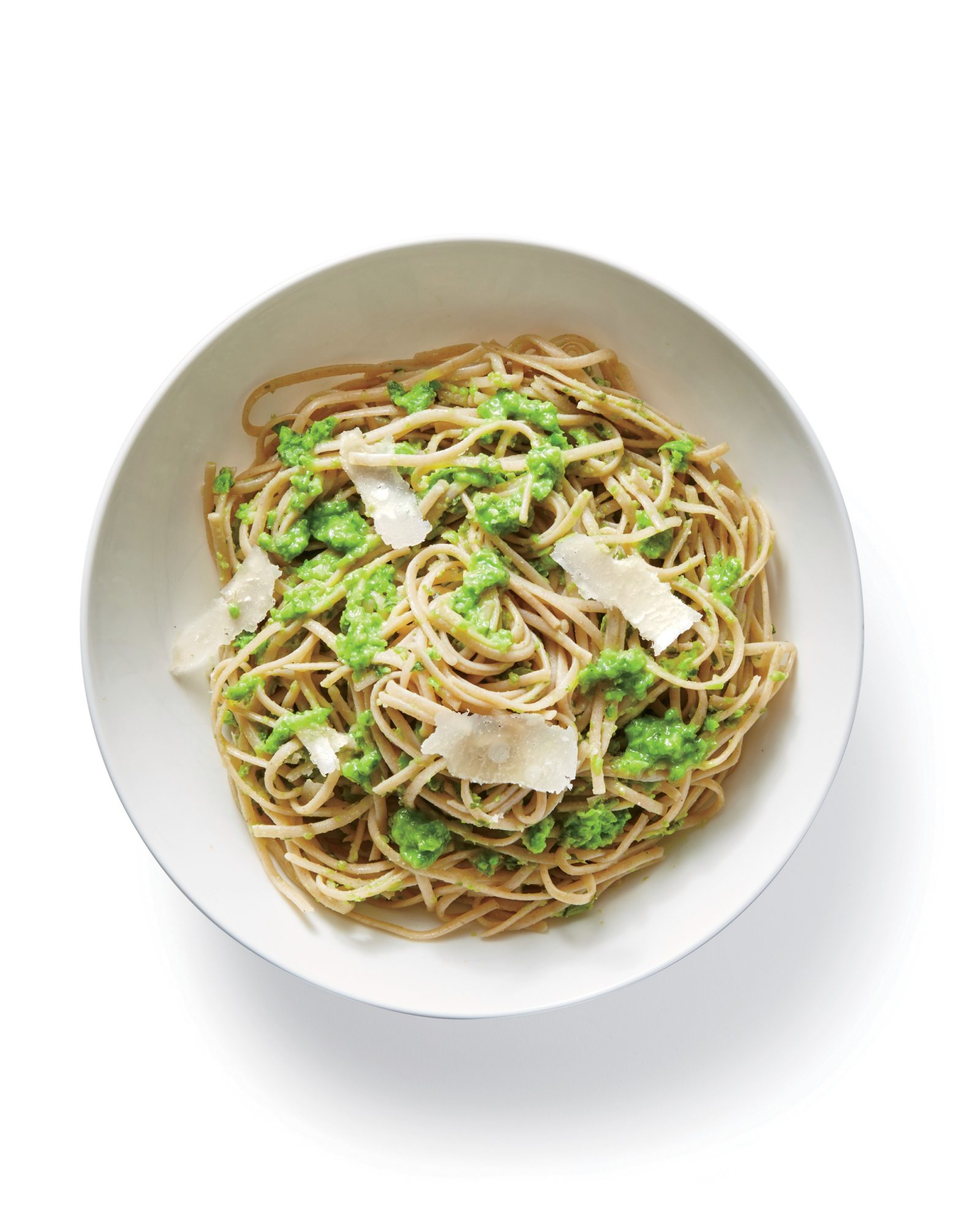 ck-Pasta with Pea Puree Image