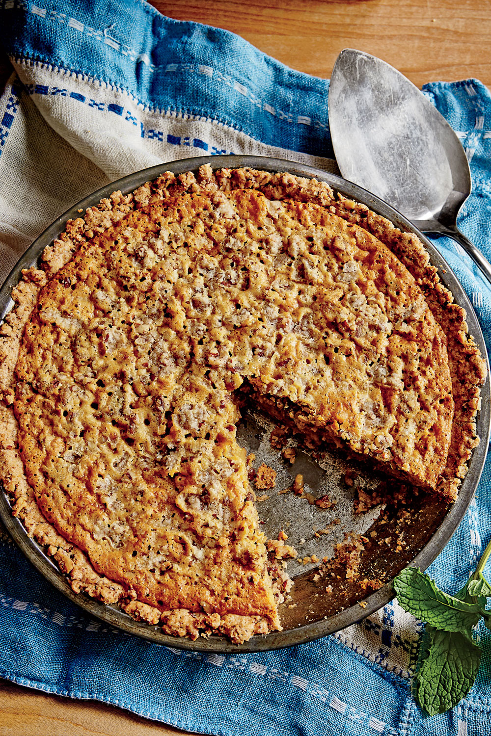 Pecan-Chewy Pie image