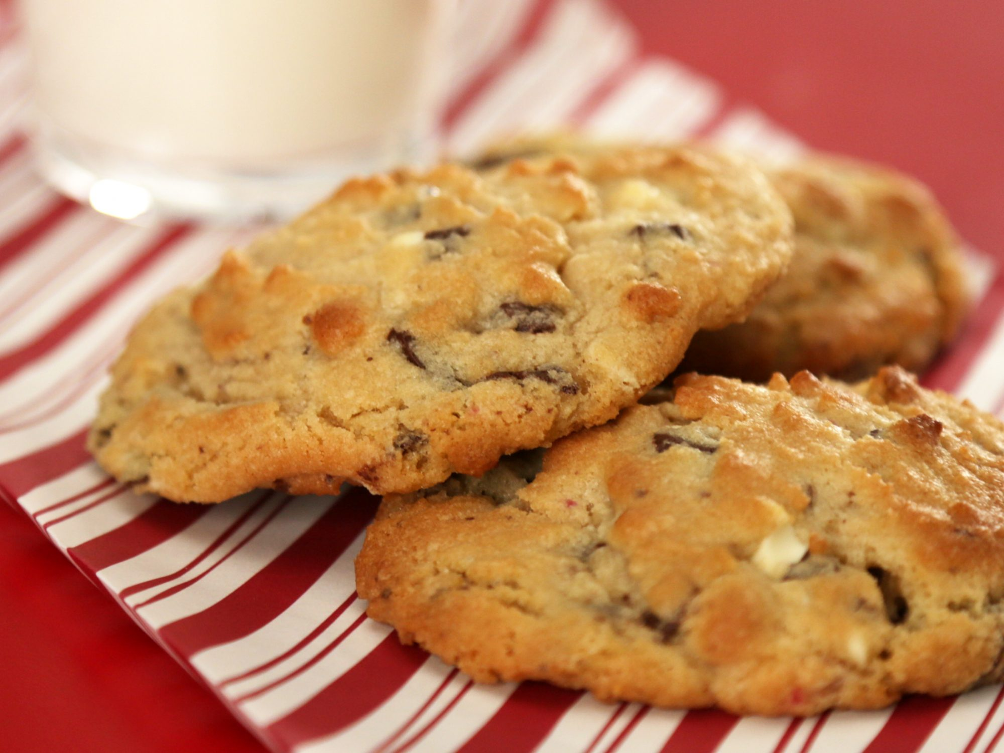 Peppermint Bark Cookies image