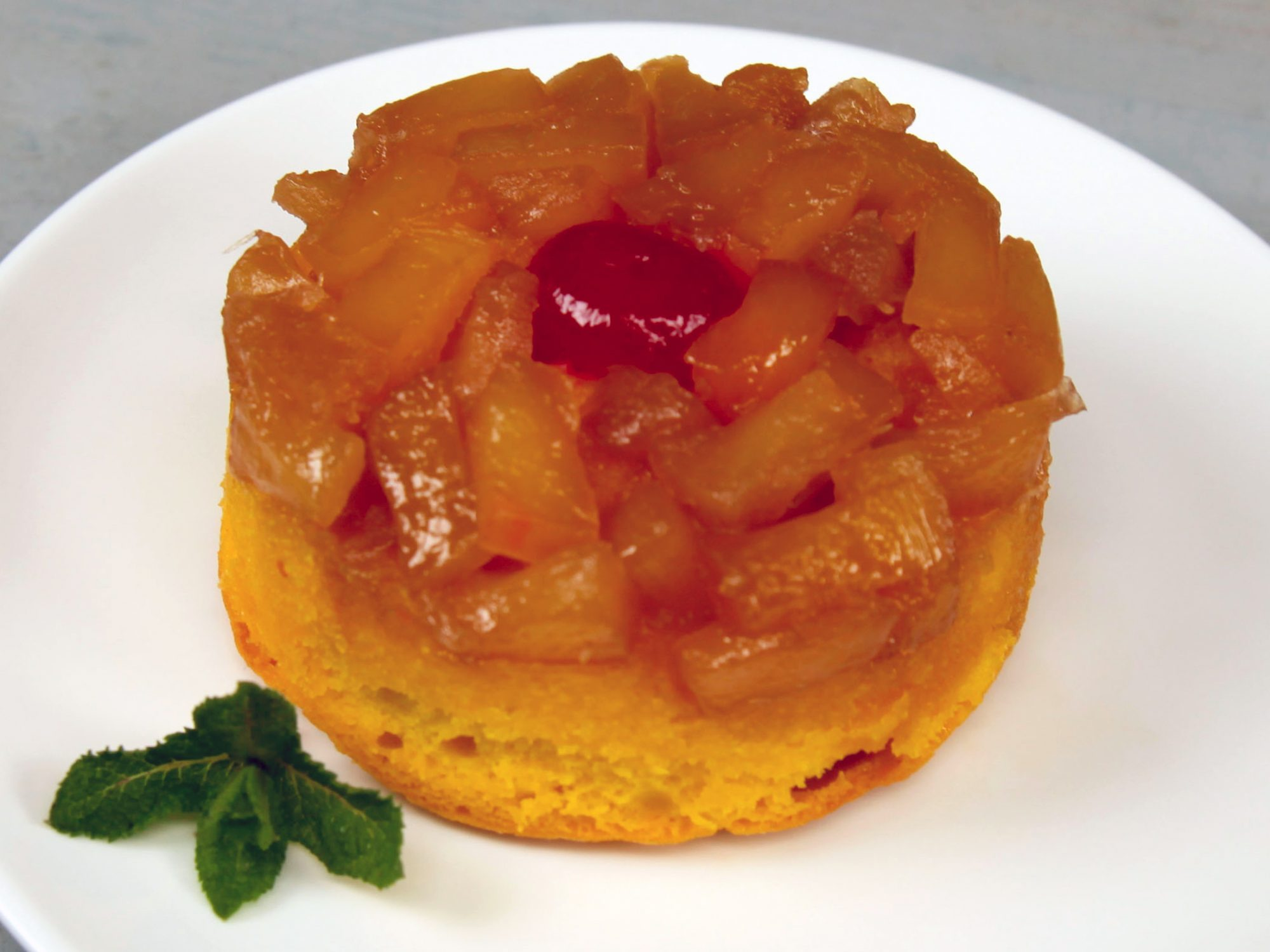 Mini Pineapple Upside-Down Cakes image