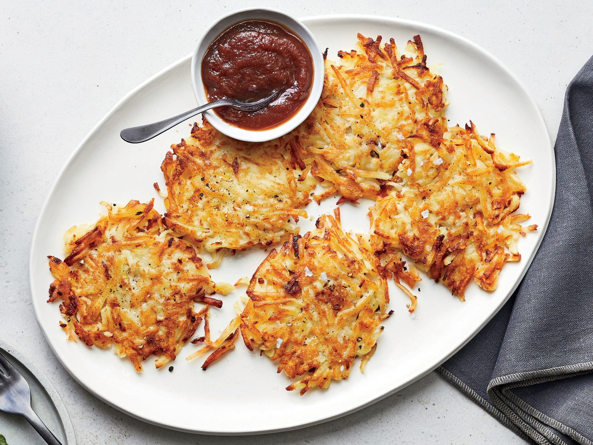 Potato Pancakes with Apple Butter