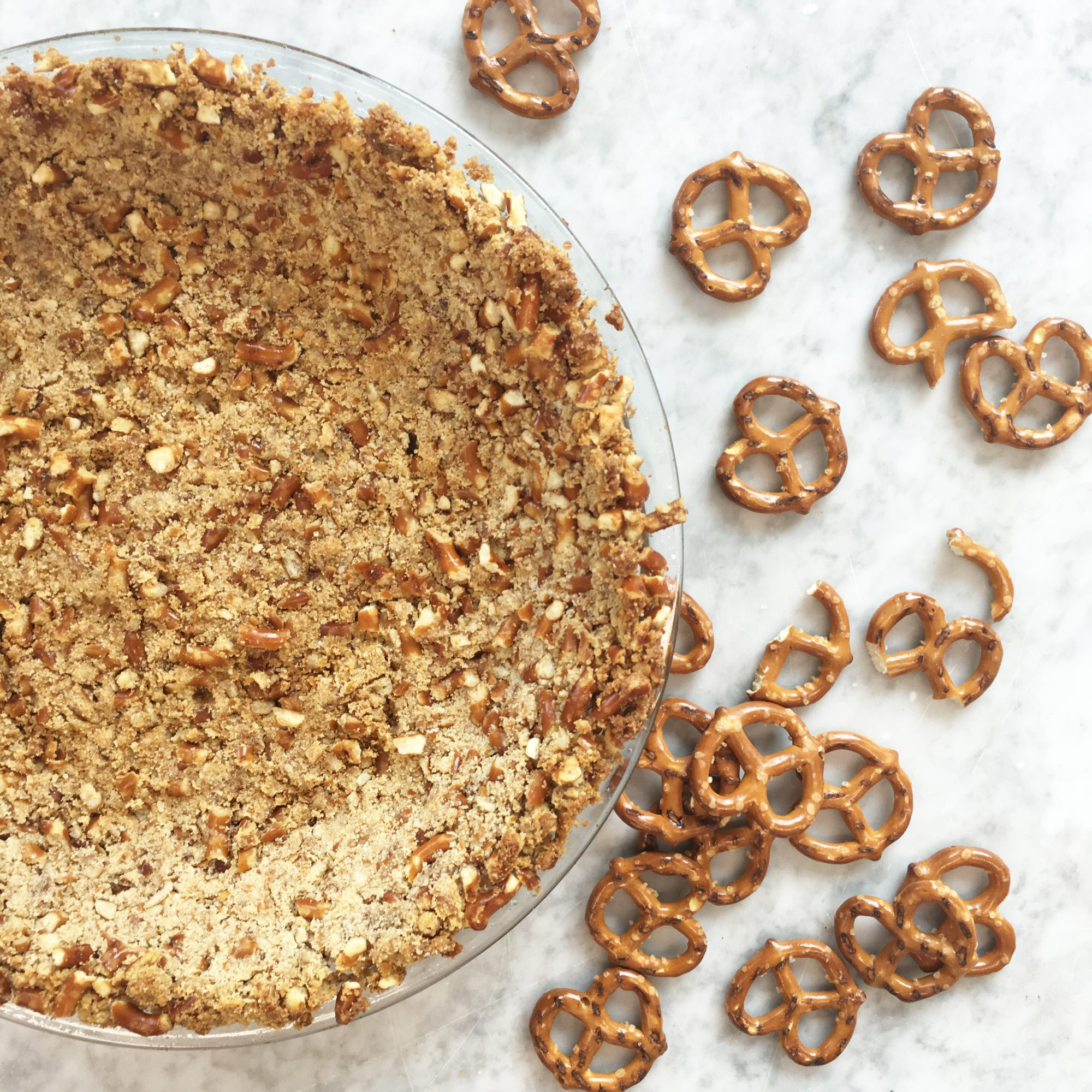 Pretzel Pie Crust