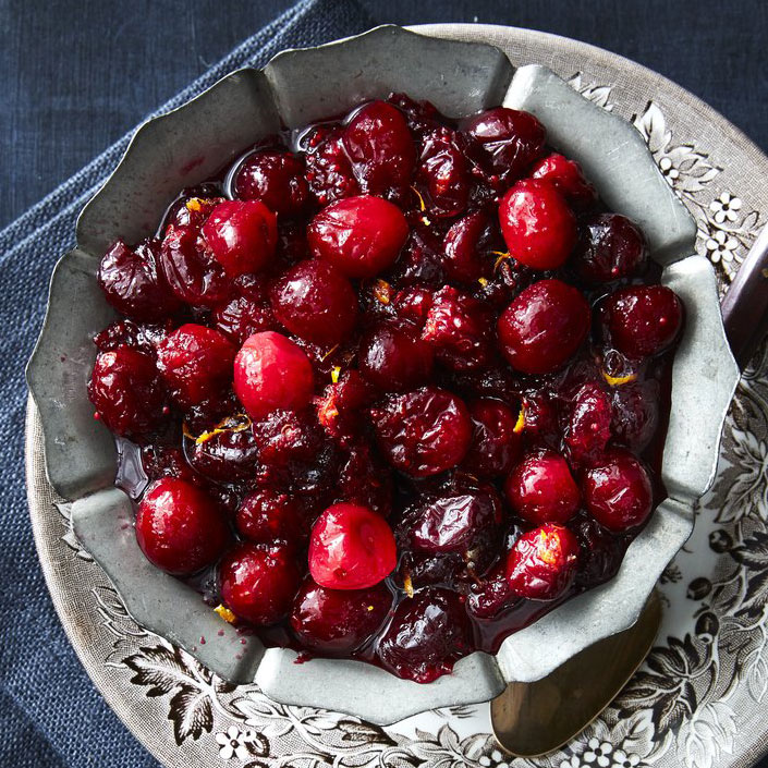 Pure and Simple Cranberry Sauce
