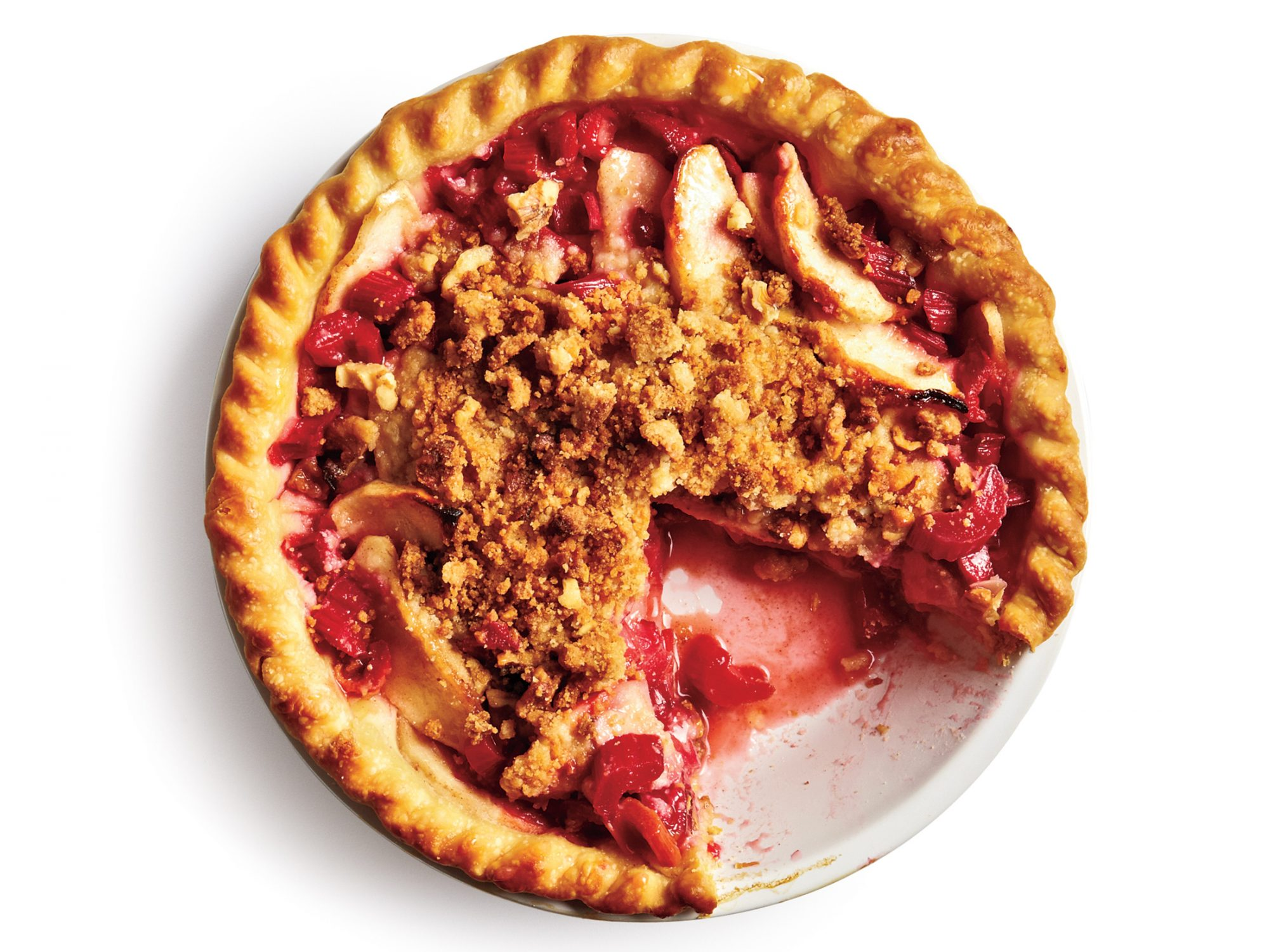 Rhubarb-Apple Pie