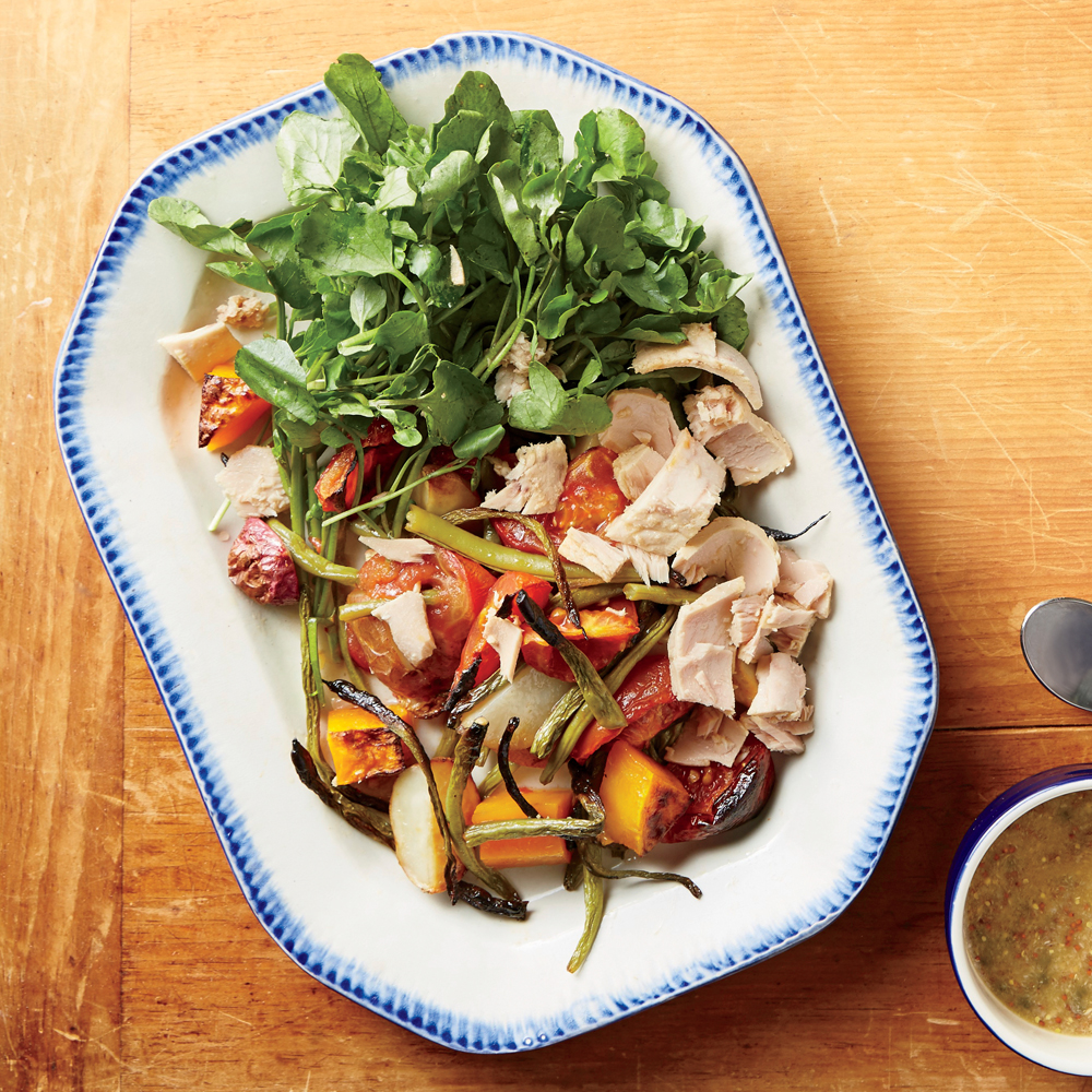 Roast Vegetable Tuna Salad