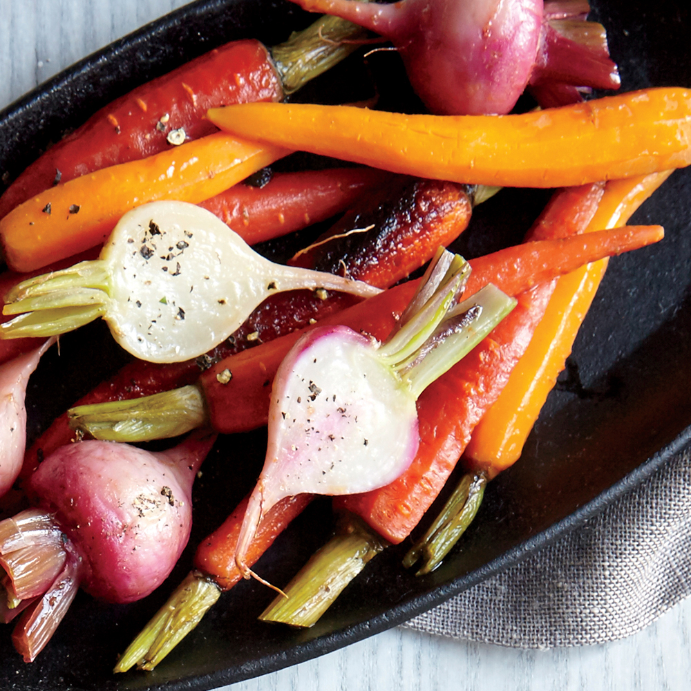 ck-Sage-Roasted Carrots and Turnips Image