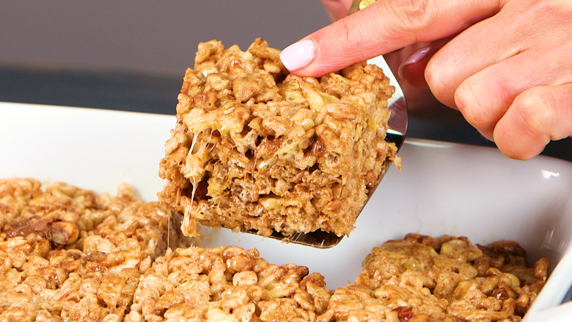 Ultimate Sweet and Salty Crispy Rice Treats image
