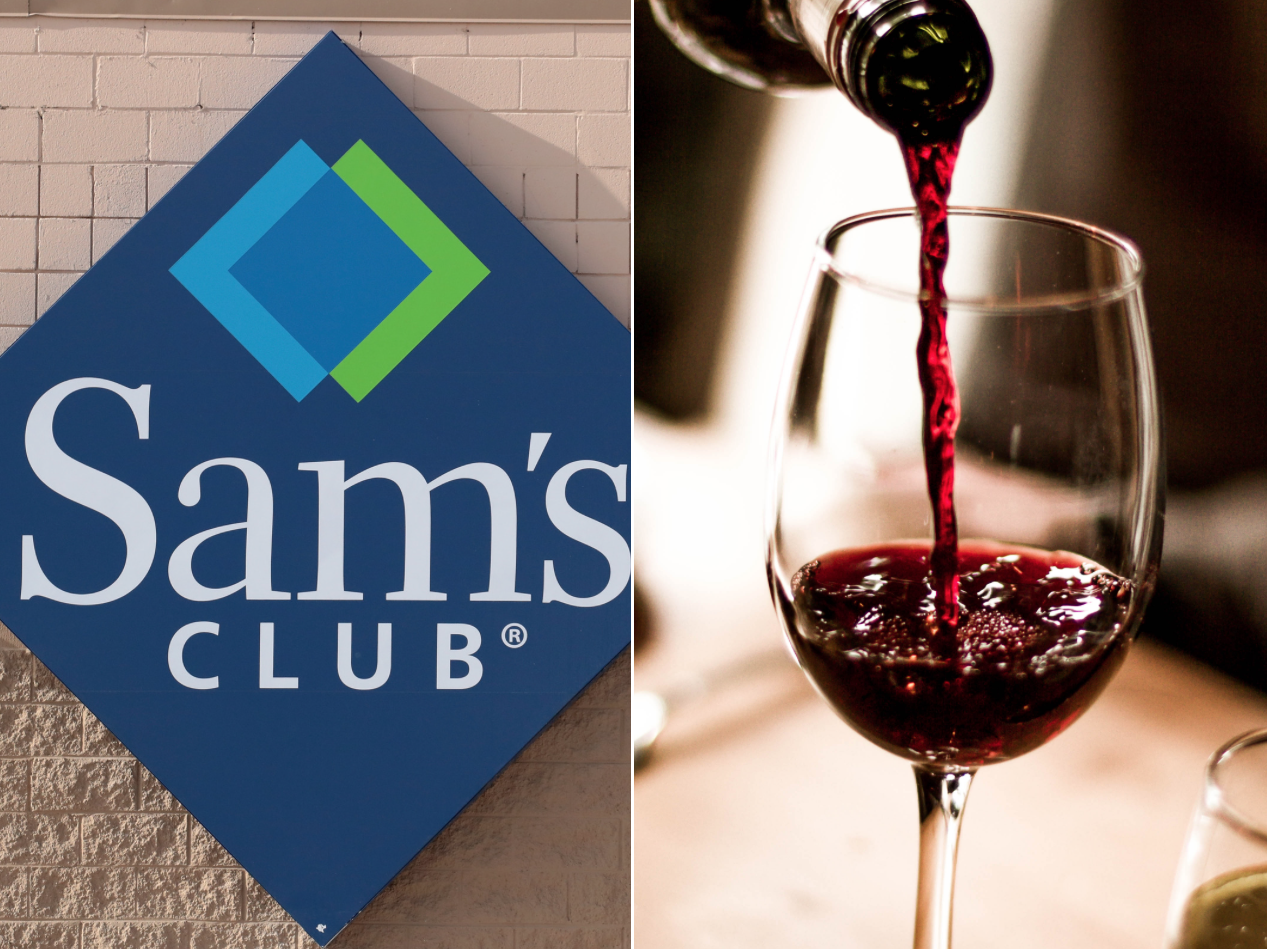 Sam's Club wine