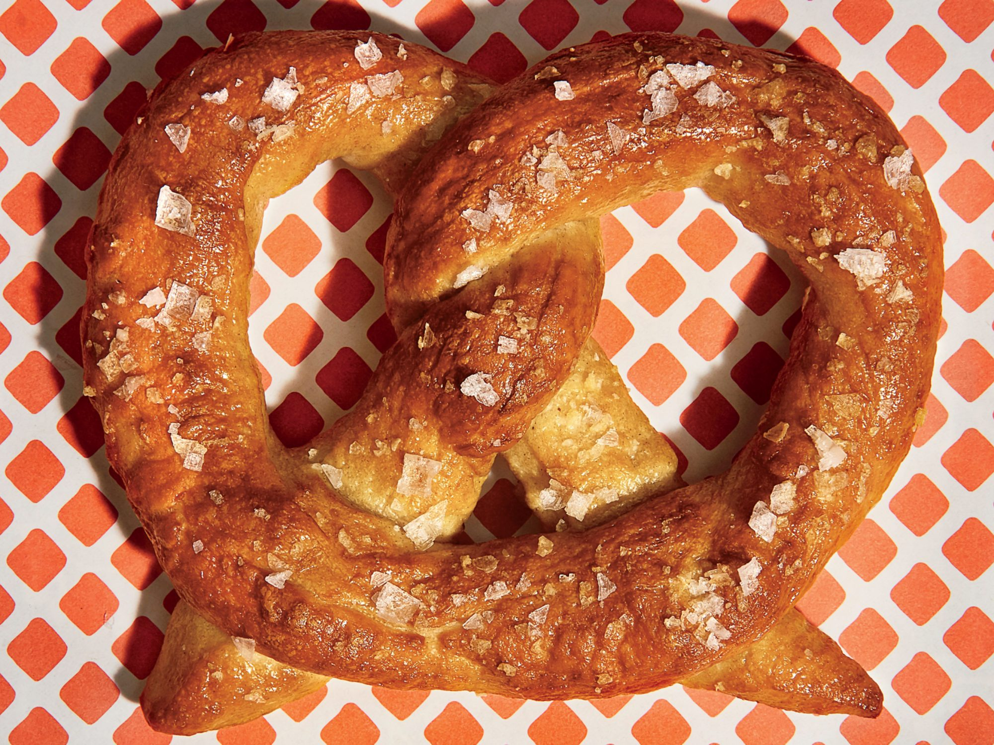 Sea Salt Soft Pretzels