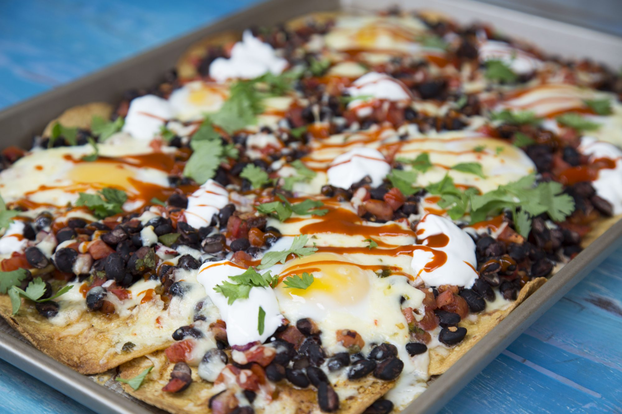 Sheet Pan Huevos Rancheros