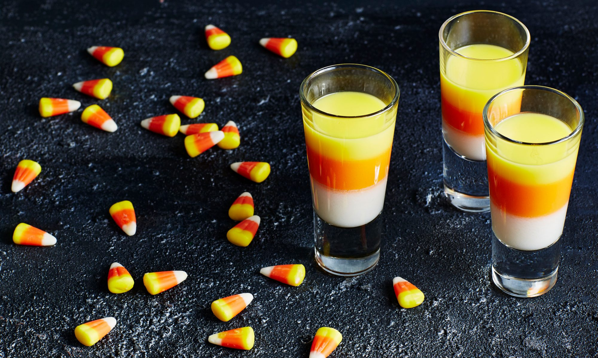 EC: Candy Corn Jello Shots Are the Ultimate Way to Start Halloween