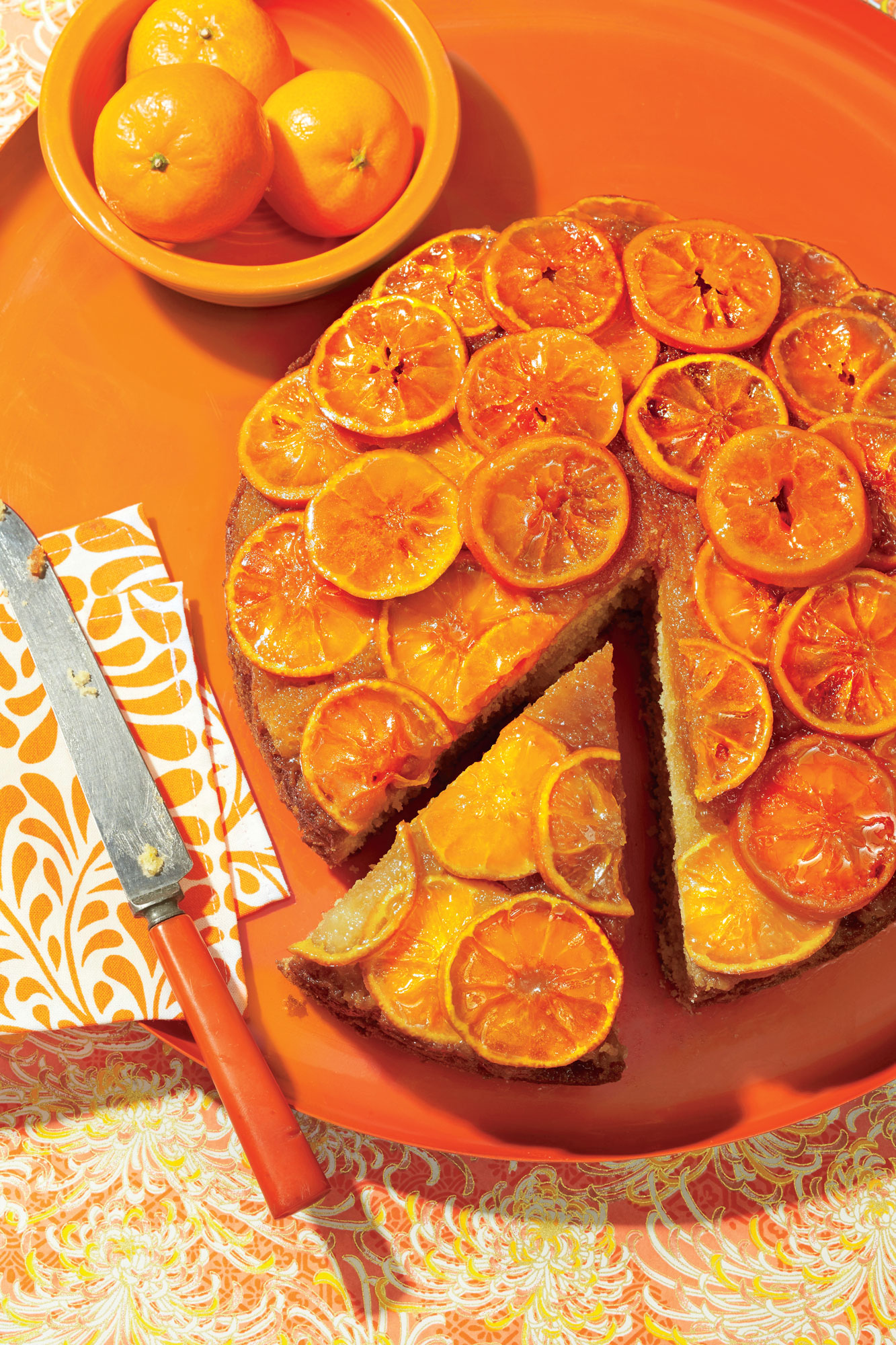Clementine Upside-Down Cake image