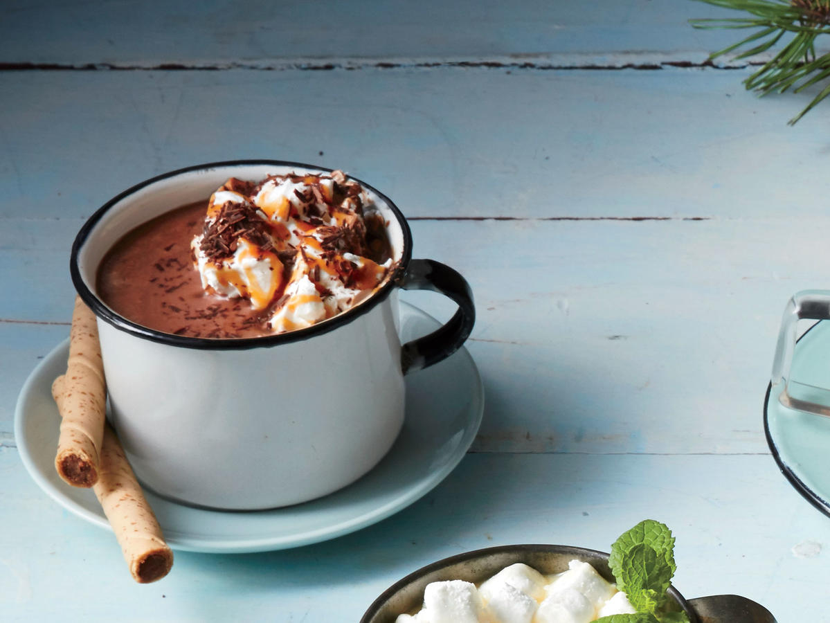 3-D Hot Chocolate image
