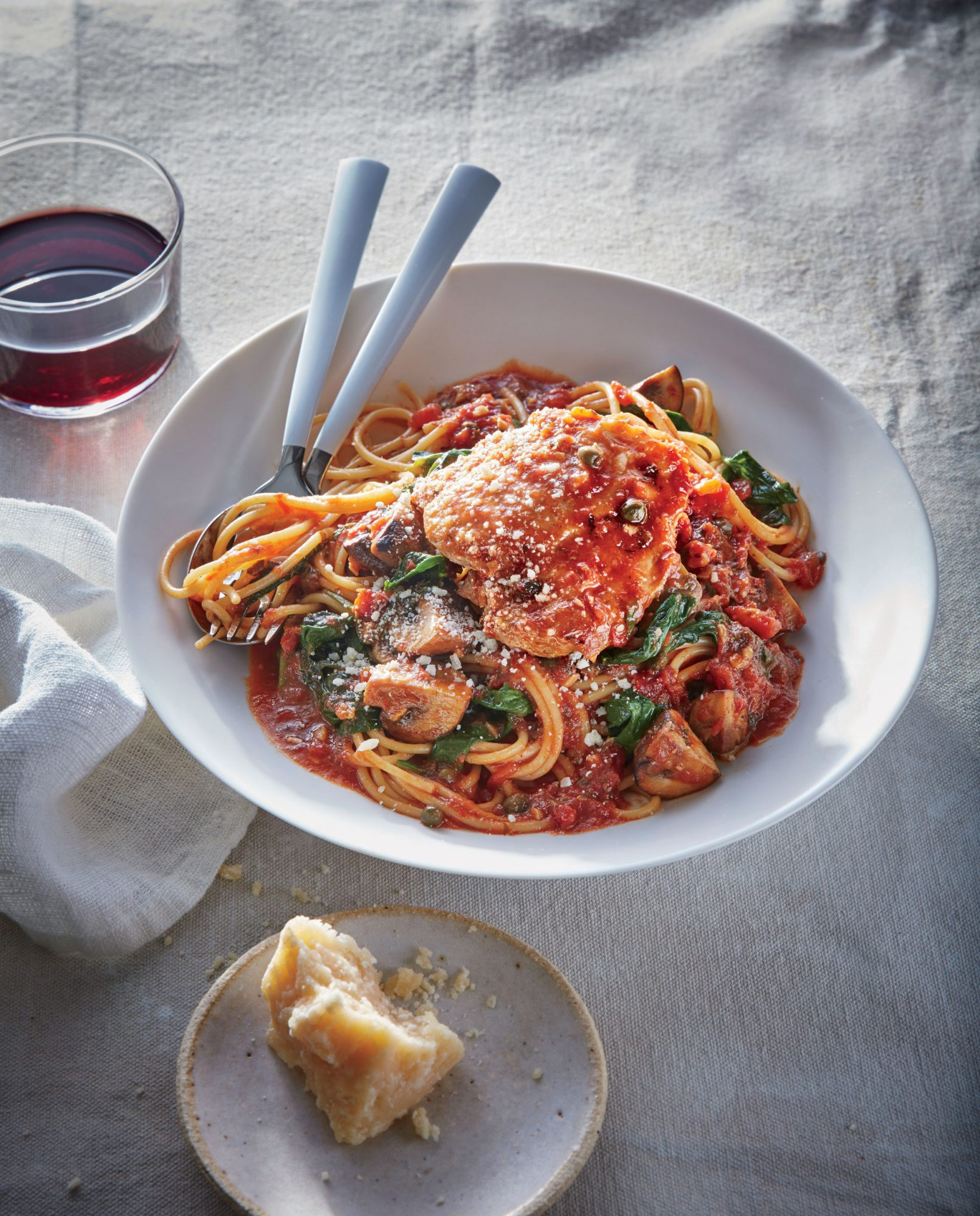 Slow Cooker Chicken Cacciatore image