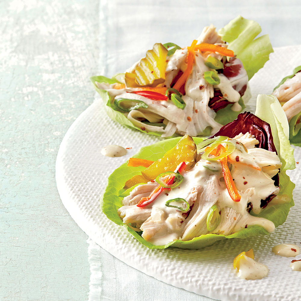 sl-Slow-Cooker Chicken Lettuce Cups Image