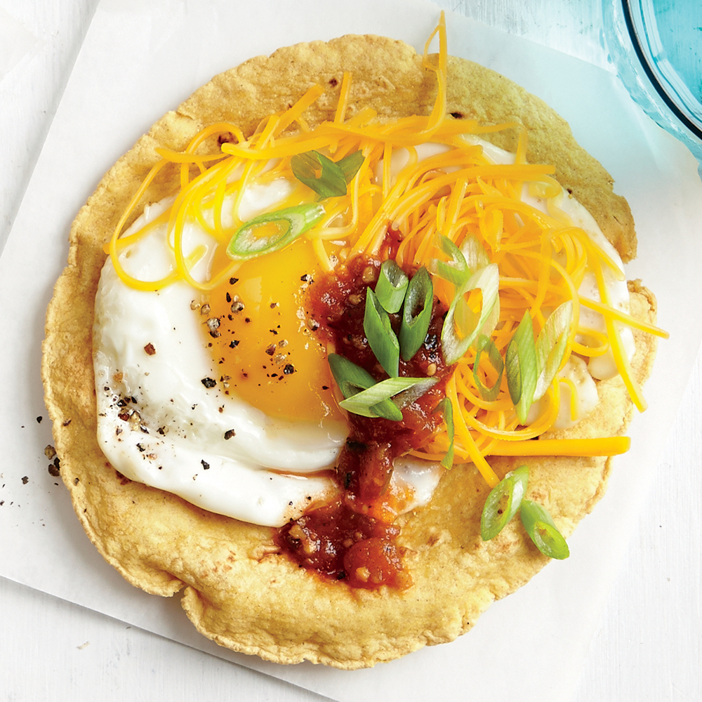 ck-Smoky Egg and Cheese Tostada Image