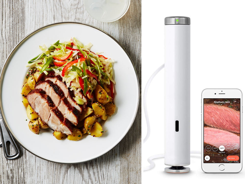 Sous Vide Machine and Sous Vide Barbecue Pork