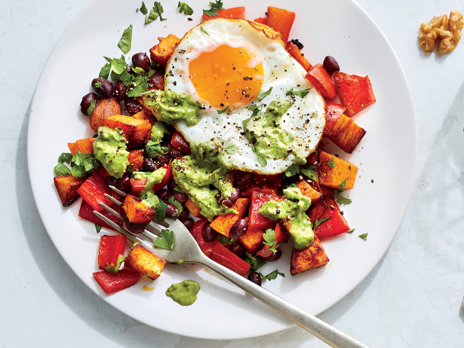 ck-Southwestern Sweet Potato and Egg Hash