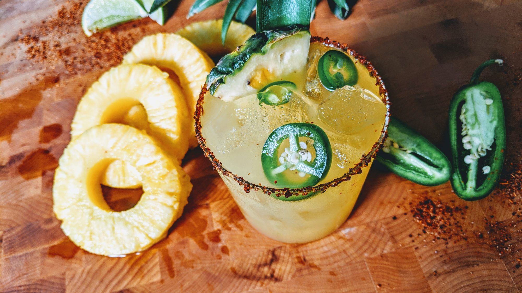 Spicy Pineapple Margarita image
