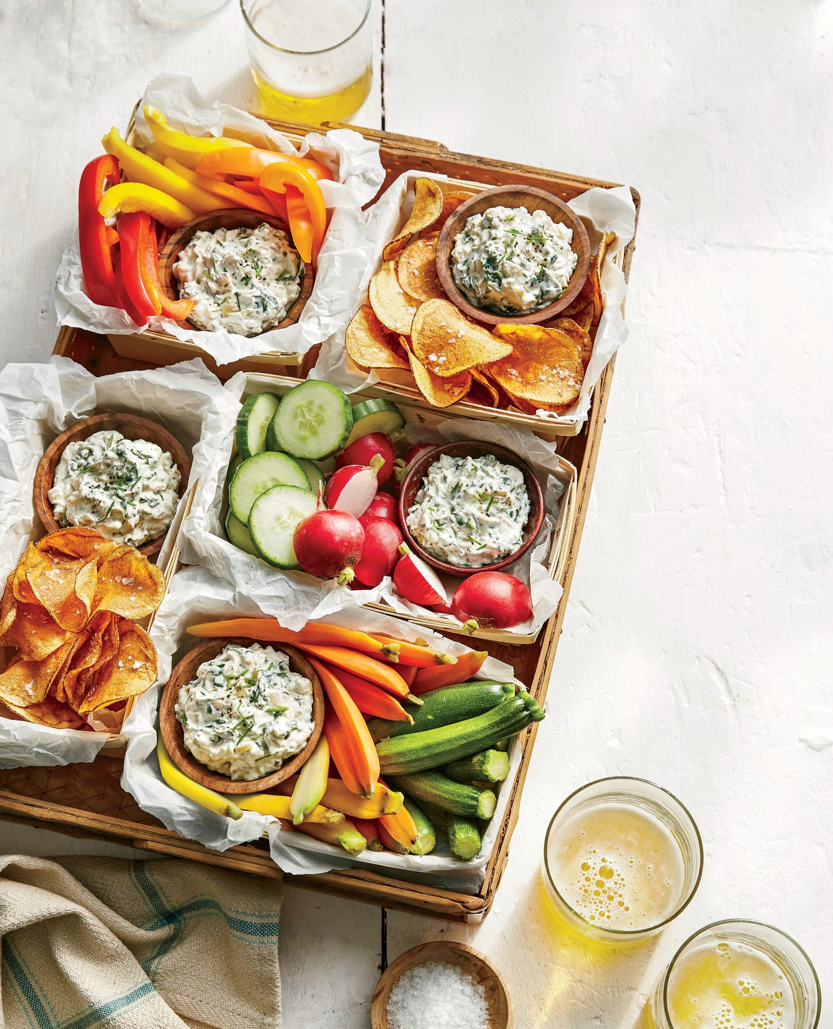 Spinach and Vidalia Dip