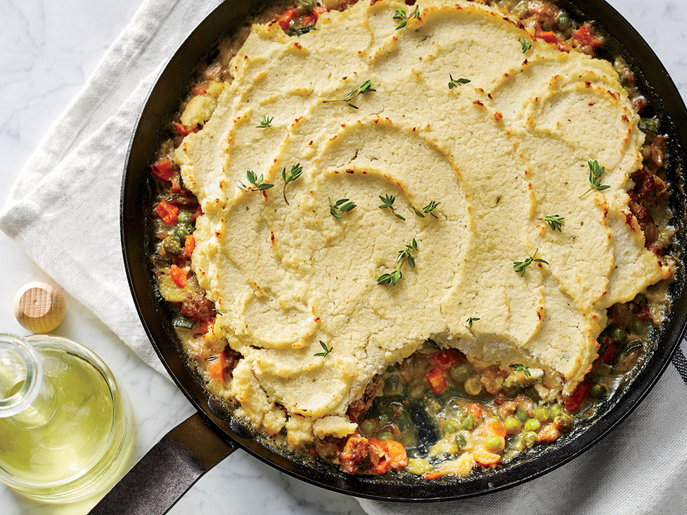 Spring Vegetable Shepherd's Pie