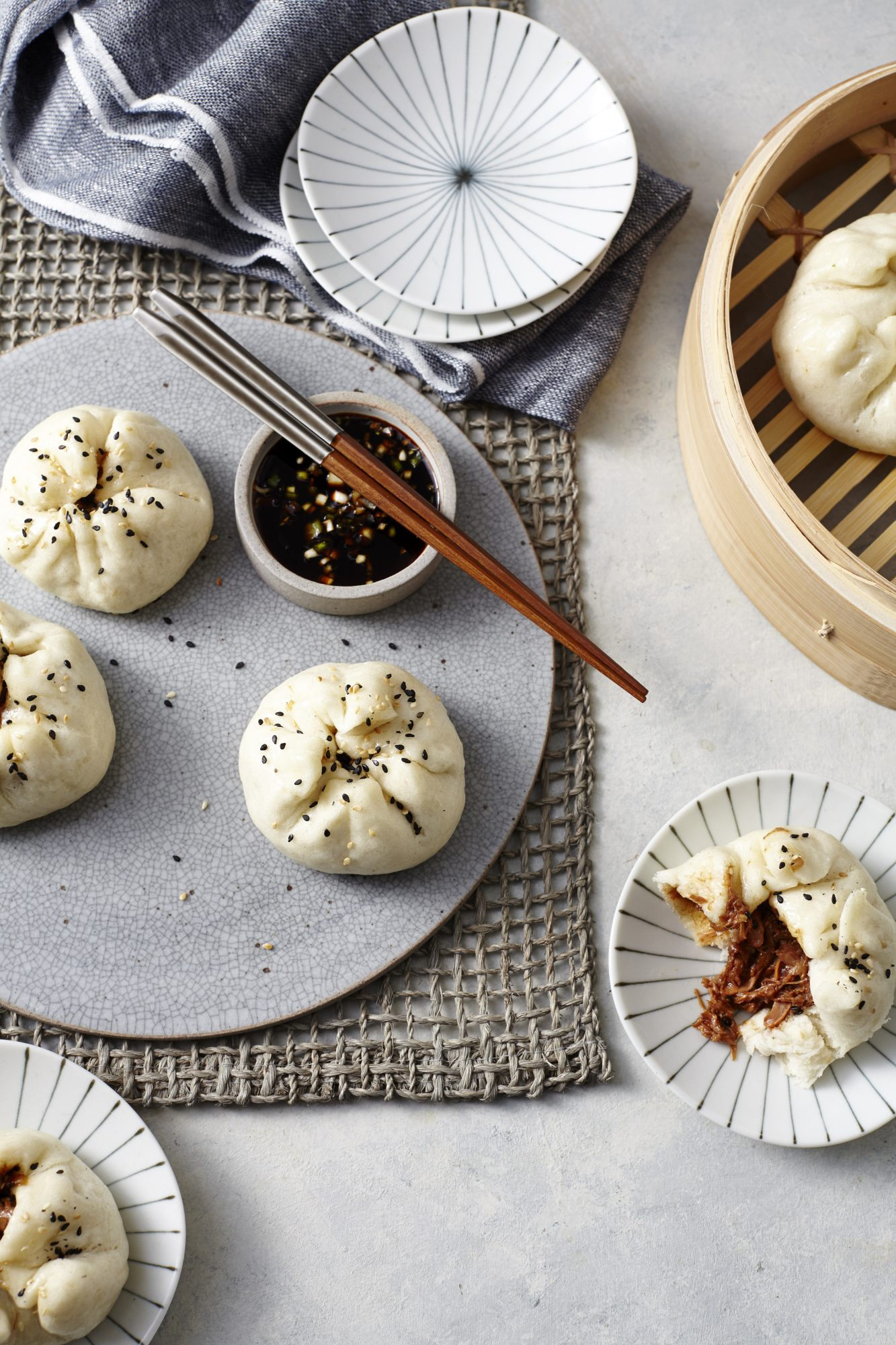 Steamed Jackfruit Buns