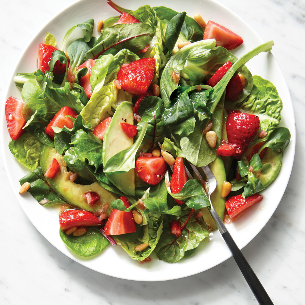Strawberry Avocado Salad