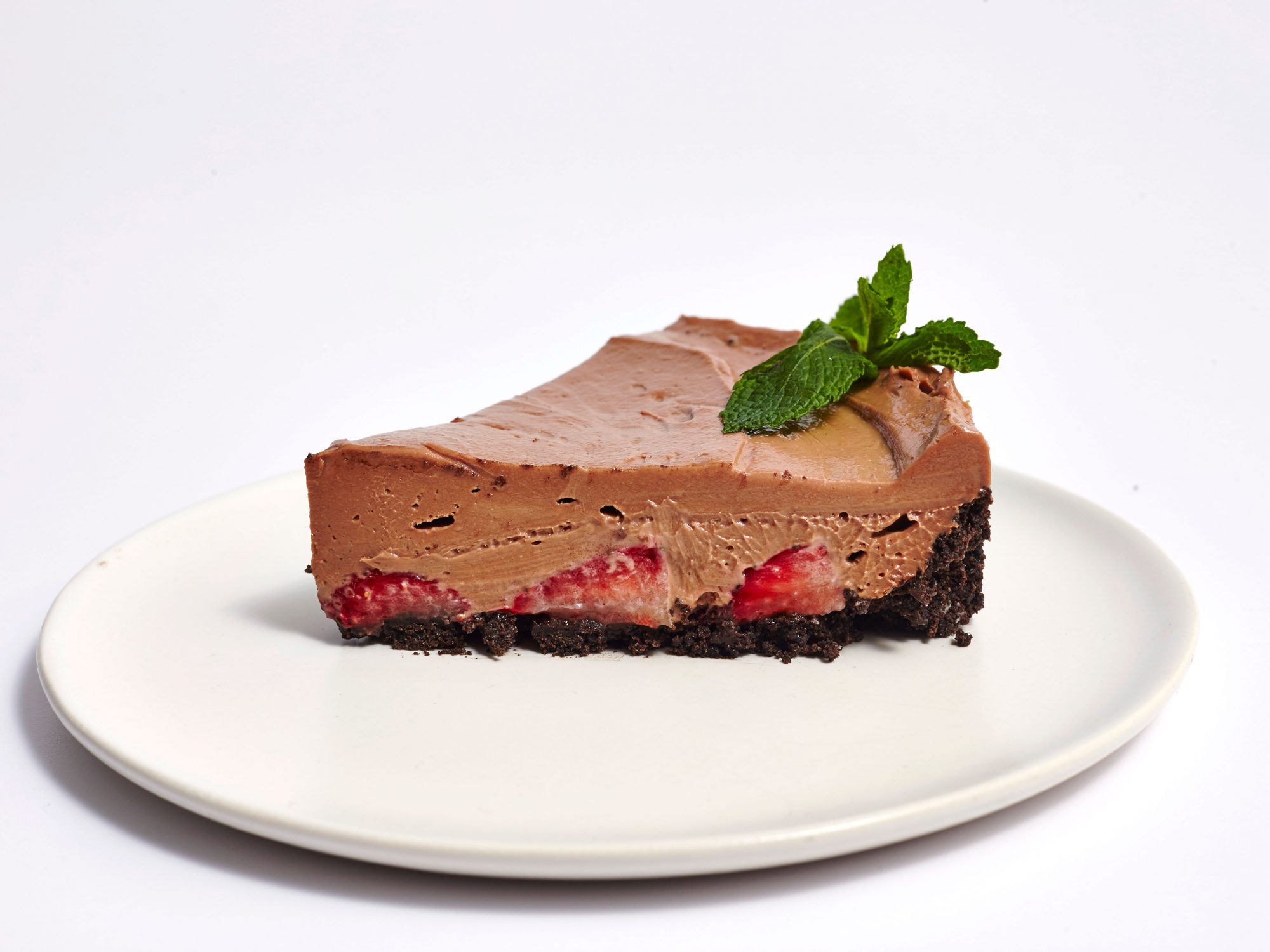 No-Bake Strawberry Nutella Cheesecake